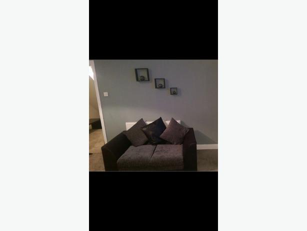 modern 3&2 seat sofas grey