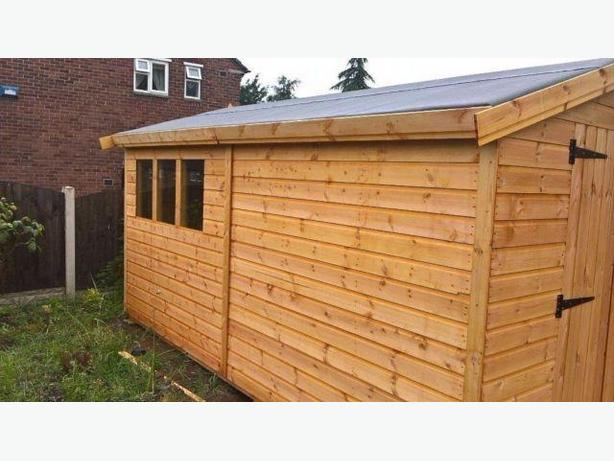 garden sheds and summer houses sale now on