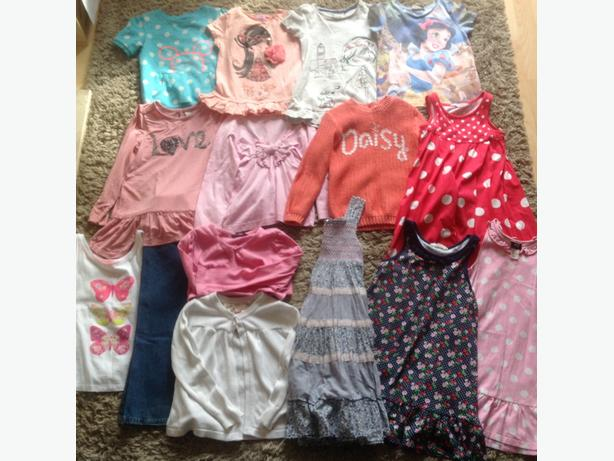 Girls 4-5 clothes bundle
