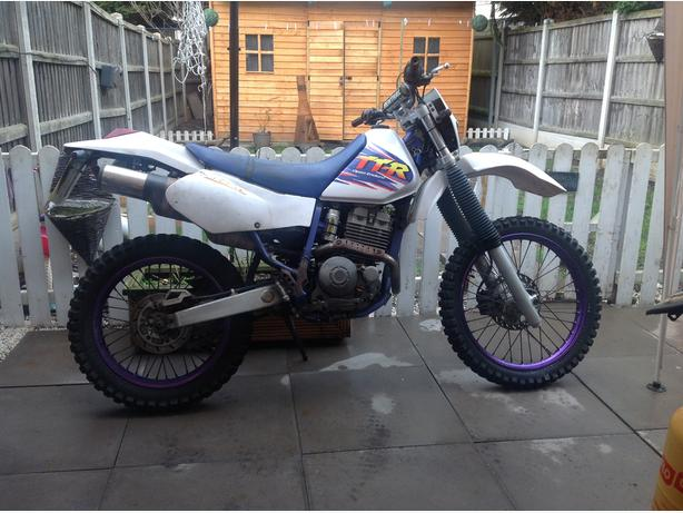 yamaha ttr250 (retro bike) (no offers)