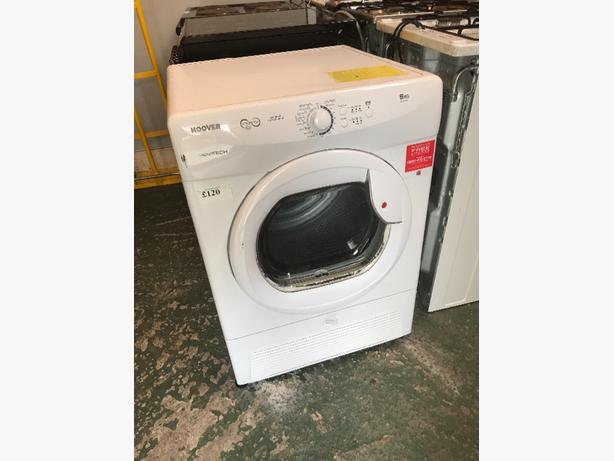 💎9kg hoover condeser dryer free deilvery