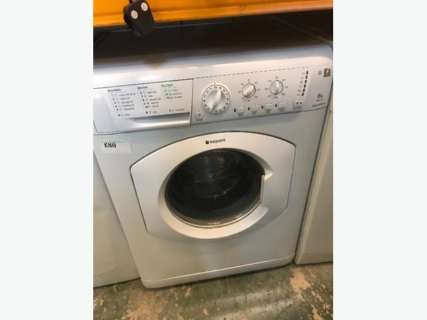 👑hotpoint 6kg washer free deilvery