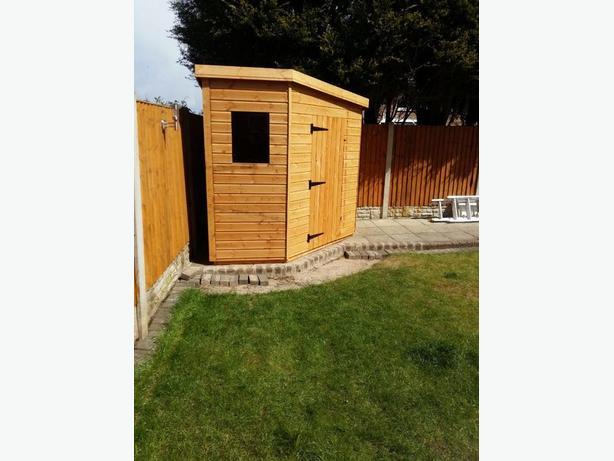 10x8 garden shed