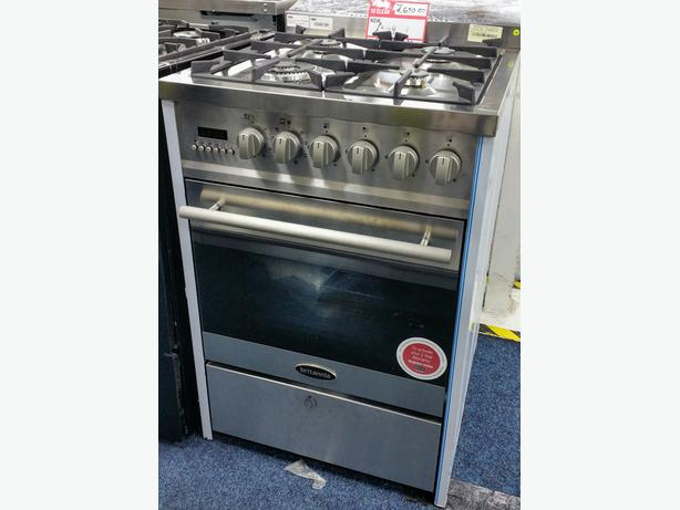 **BRAND NEW** BRITTANIA 60CM DUAL FUEL COOKER  + 2 YEAR WARRANTY