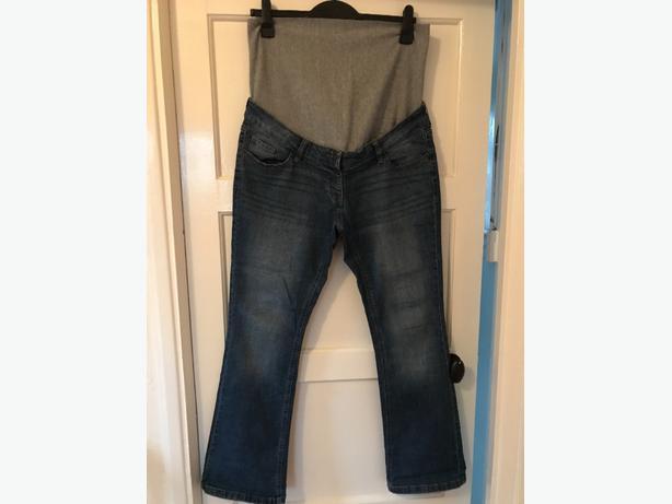 next maternity bootcut jeans