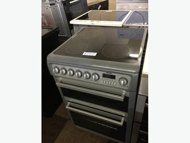 STAINLESS STEEL HOTPOINT ELECTRIC COOKER🌎🌎PLANET APPLIANCE🌎