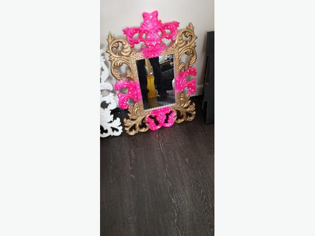 mirror hand made colours and bling