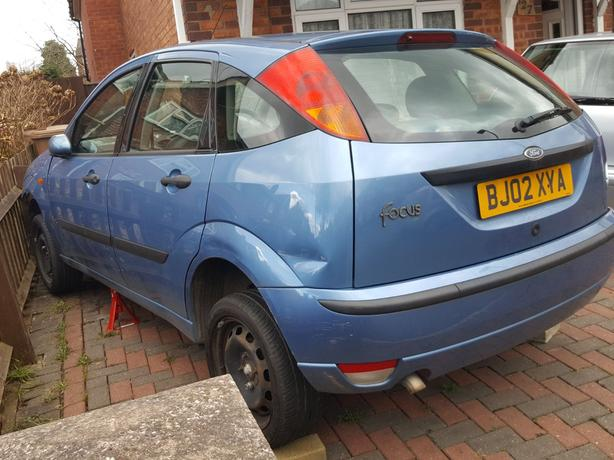 Ford focus backing 1.8 tdi