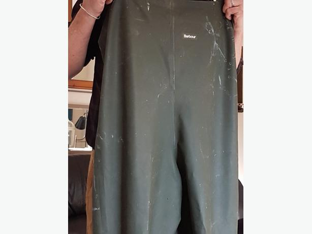Barbour fishing waders