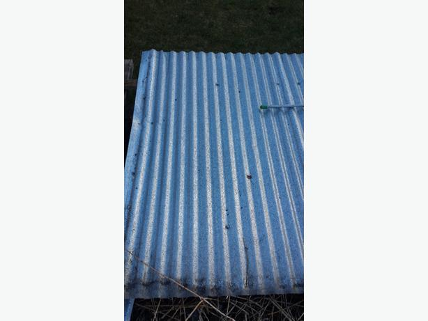 galvanised sheeting
