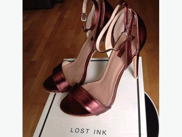 Lost Ink ASOS EXCLUSIVE BURGUNDY Size 7 Brand New