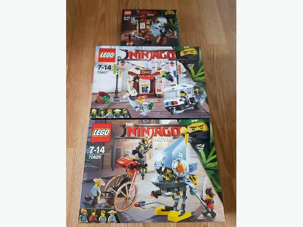 Lego the ninjago movie sets
