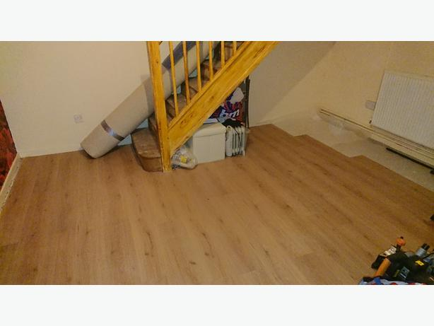 Laminate floor Fitter