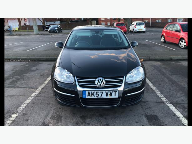 57 REG VW JETTA 1.9 TDI SE BLACK (HPI CLEAR)