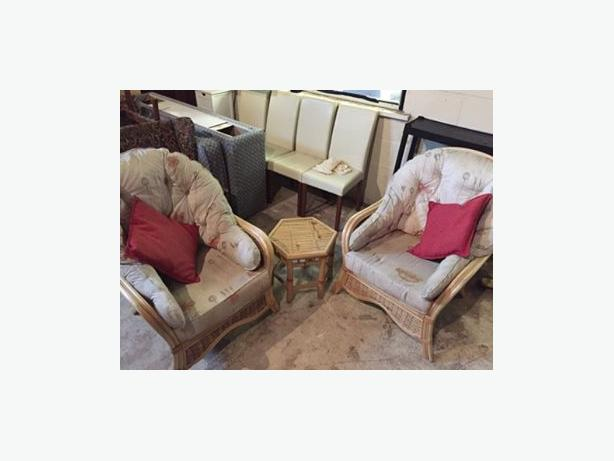 CANE FURNITURE ** DELIVERY AVAILABLE**