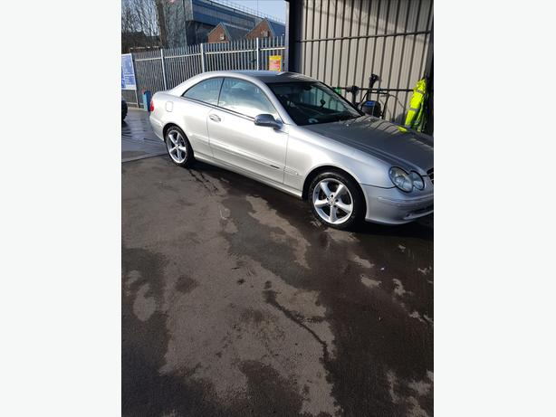 mercedes clk 3,2petrol low milage