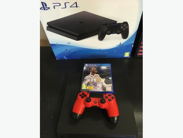 ps4 slim 500 gb with fifa 18