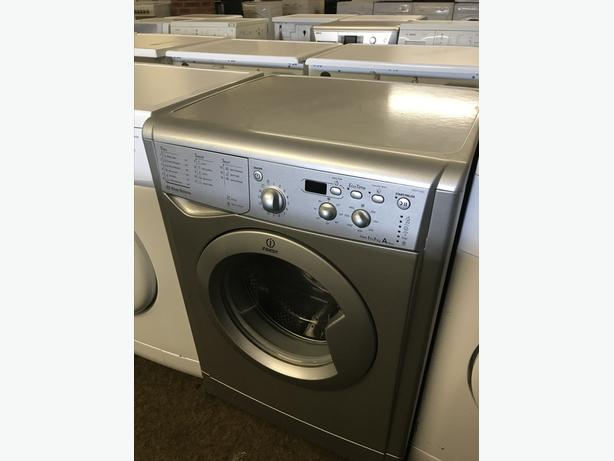 7 KG INDESIT WASHING MACHINE IN SILVER WITH GUARANTEE 🇬🇧🇬🇧🌎🌎🇬🇧🇬🇧