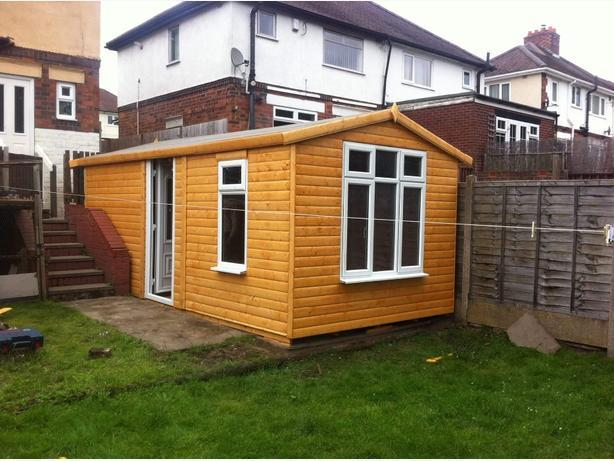 sheds and summer houses sale now on