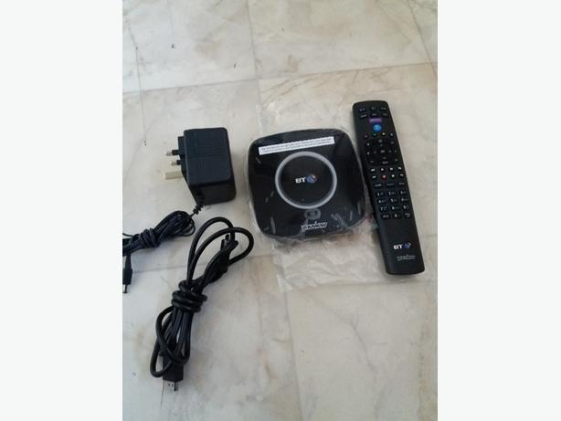 Brand New BT Your view set top Box and Remote Control