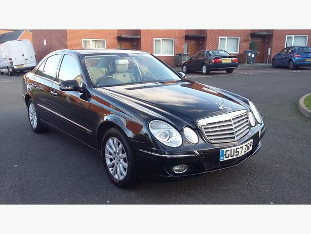 2007 57REG FACELIFT MERCEDES E CLASS E220 CDI ALLOYS 6 SPEED MANUAL 2 KEYS