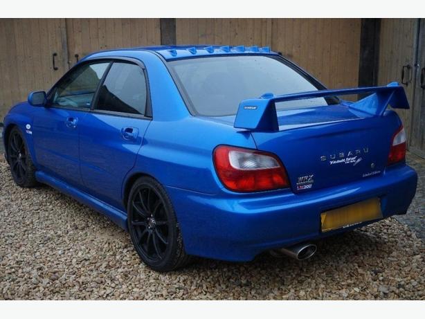 Subaru Impreza WRX UK300 Limited edition