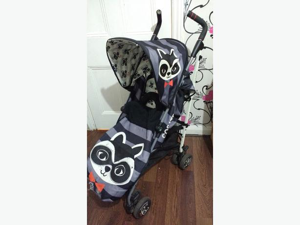 FREE: cosatto racoon riot stroller