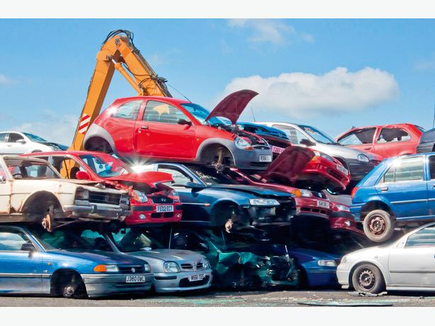 WANTED: ANY SCRAP CARS TAKEN GOOD PRICES PAID