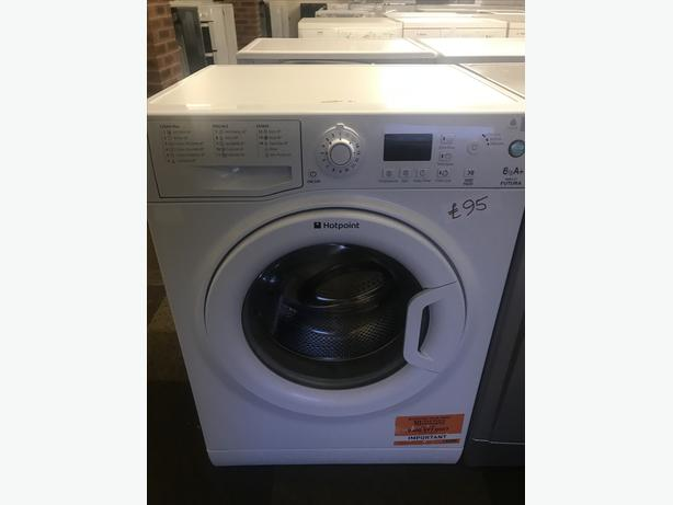 LOVELY WHITE HOTPOINT WASHER 6 KG WITH GENUINE GUARANTEE
