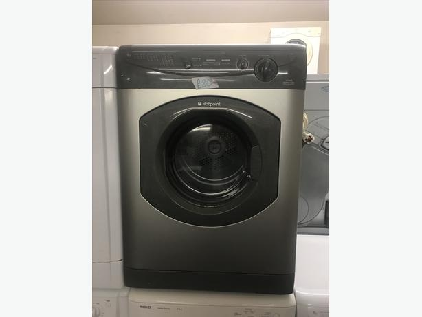 HOTPOINT VENTED TUMBLE DRYER 6 KG IN GRAPHITE WITH GUARANTEE 🇬🇧🇬🇧🌎🌎