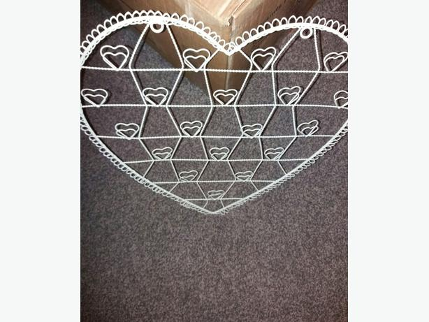Heart Shaped pictures/  Jewellery Hanger
