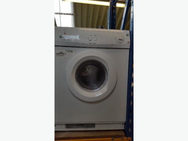 white knight low carbon 7kg condenser dryer