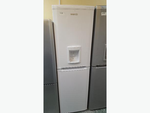 white beko frost free water dispenser fridge freezer