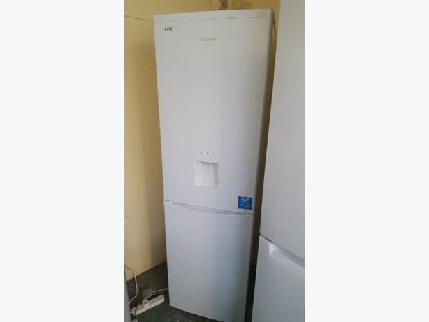 white candy water dispenser fridge freezer