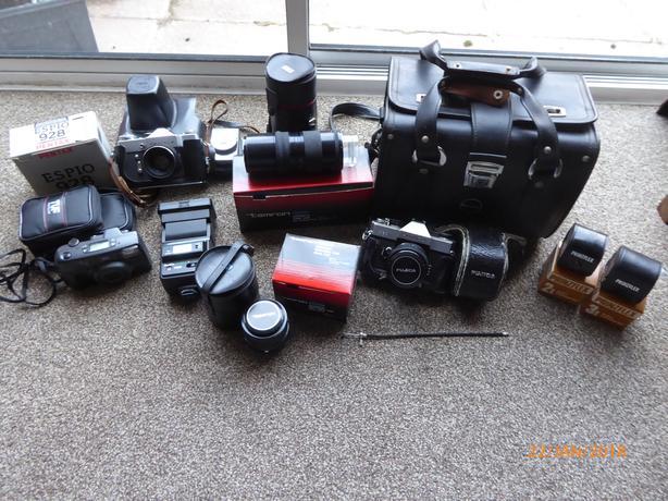 Film Camera Equipment.