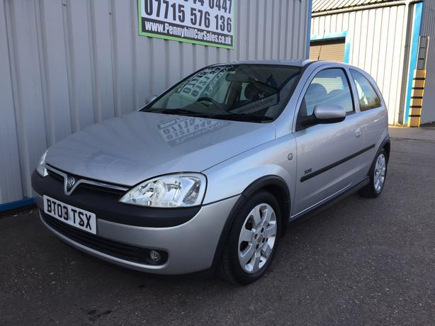 2003 Vauxhall Corsa 1.2 SXI **12 MONTHS MOT* *ONE FORMER KEEPER**