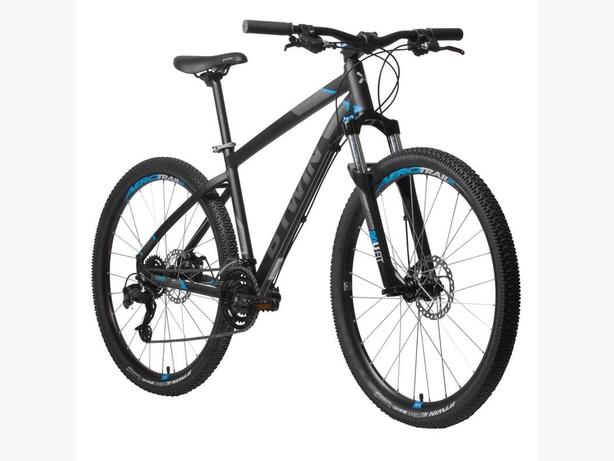 "Rockrider 520 Mountain Bike, 27.5"" - Black XL"