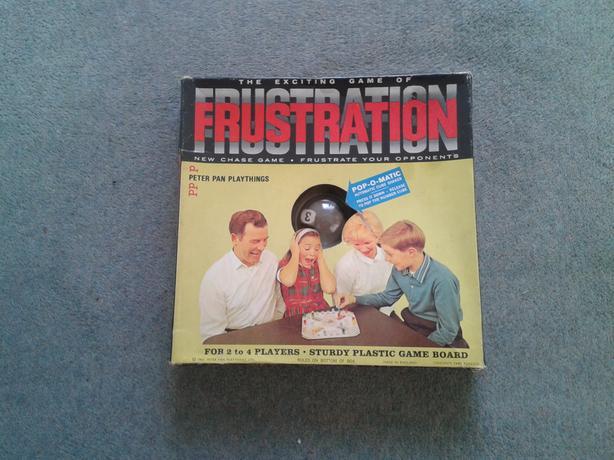 Frustration  Board Game.
