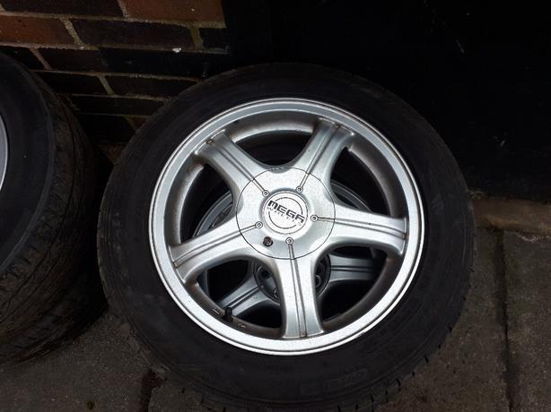 Multi fit alloys wheels