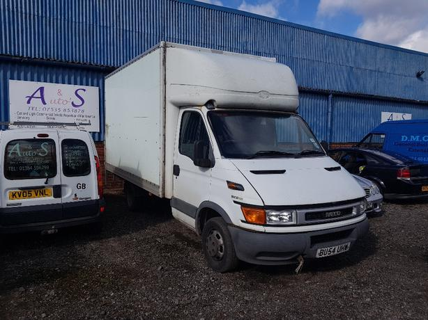 2005 Iveco Curtain side