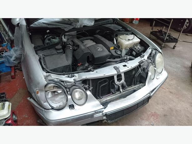 1999 Mercedes CLK 320 spares or repair written off