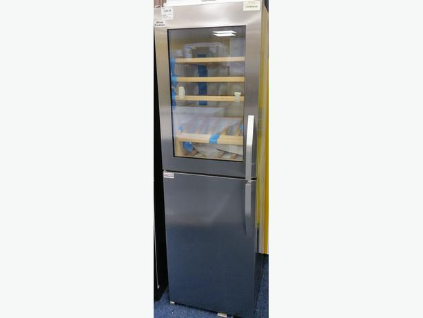 **GRADED** AEG STAINLESS STEEL WINE COOLER AND FREEZER +  12 MONTH WARRANTY