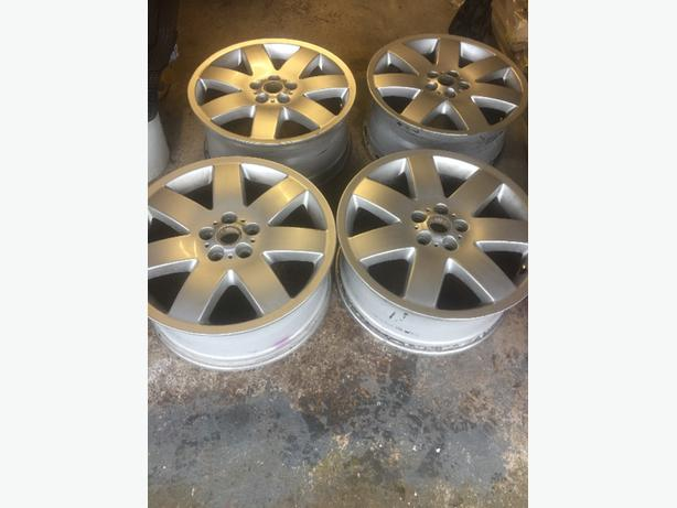 "range rover alloy wheels 20"" 5x120"