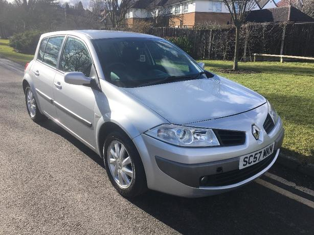 Renault Megane 1.4 5Dr 2007 (64K & MOT MARCH 2019)