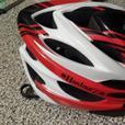 Hardnutz Stealth Hi Vis HN 103 Red/White/Black bike cycling helmet