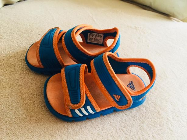 adidas sandals size uk 4infant