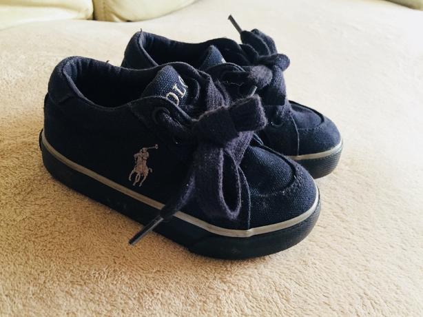 Ralph Lauren trainers size uk7 infant