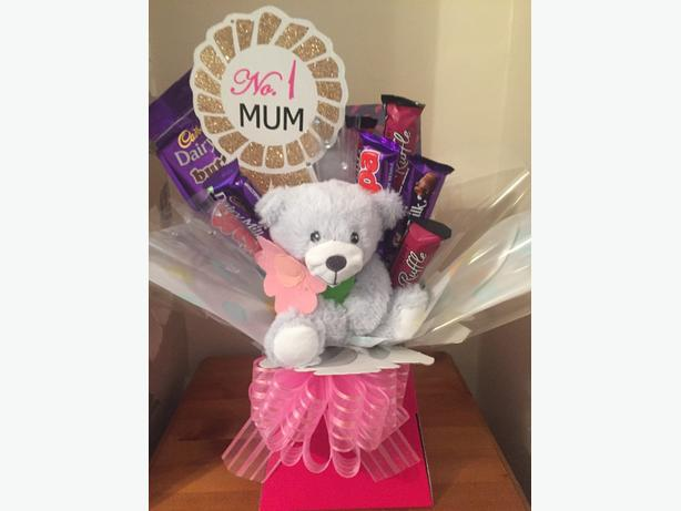 mothers day chocolate boquet