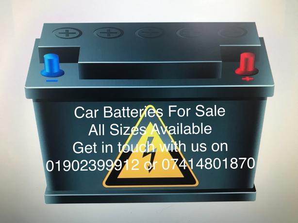 Batteries for sale - Car/Van/Petrol/diesel