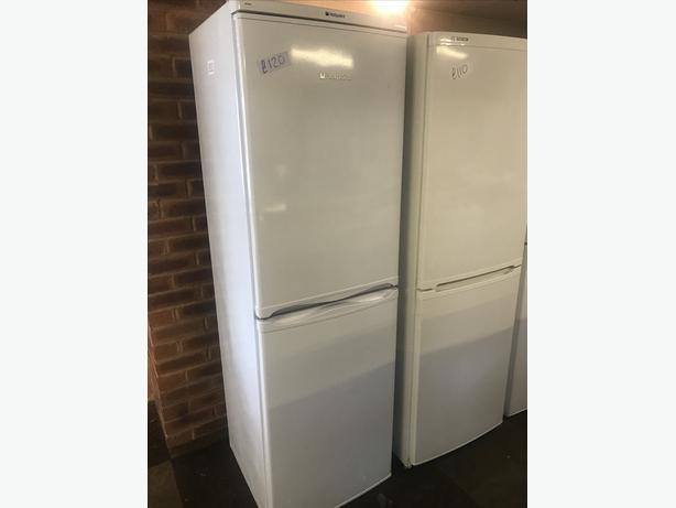 HOTPOINT HALF N HALF FRIDGE FREEZER WITH GENUINE GUARANTEE 🇬🇧🇬🇧